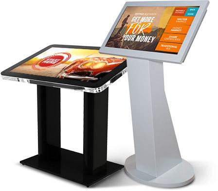 Interactive kiosks