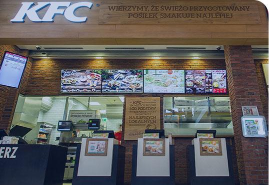Digital Menu Boards Fast Foods