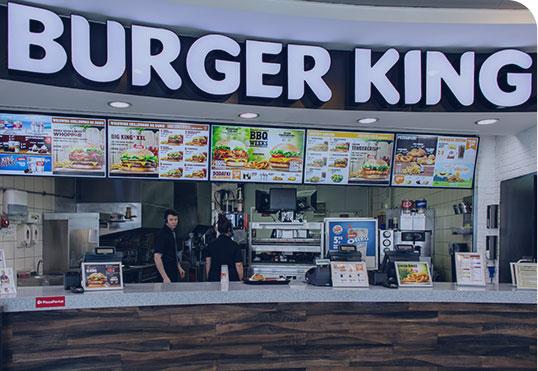 Digital Menu Boards QSR Fast Food
