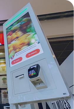 Seelf Order kiosk QSR Fast Food